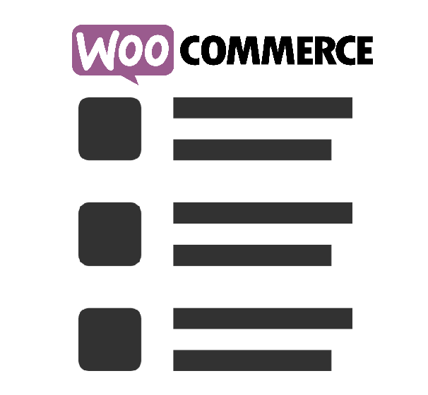 woocommerce search results bloggy view