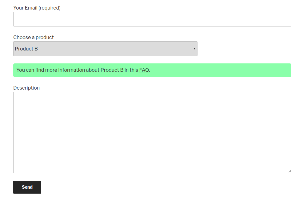 Contact form 7 custom javascript